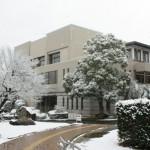 雪の図書館