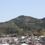御井キャンパスのシンボル高良山
