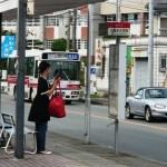 久留米大学前バス停